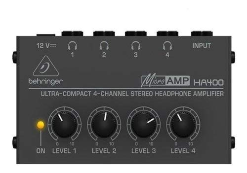 Amplificador De Fones Ha 400 Powerplay Ha400 - Behringer +nf