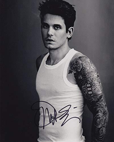 John Mayer signed 8x10 photo