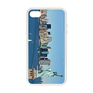 America City Series - Custom Your Home City New York In Your iPhone 4/4s Case Laser Technology iPhone Case NYS001