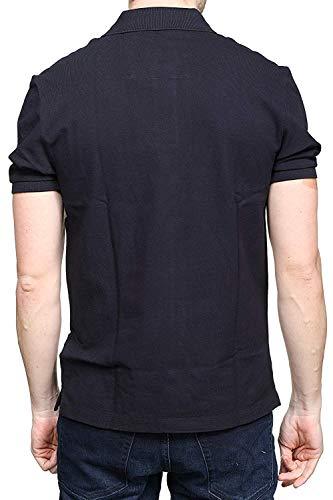 099 Klein c Uomo M Calvin Collar Nero Polo J30j311172 Embroidery Mod RWdzzcqn