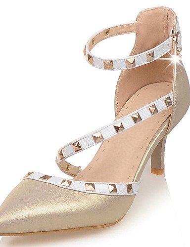 Textiles / Home ZQ los zapatos de tac¨®n de aguja tal¨®n de las mujeres/en punta/tac¨®n abiertos del dedo del pie de la boda/fiesta&?noche/vestido, 2in-2 3/4in-golden 2in-2 3/4in-golden