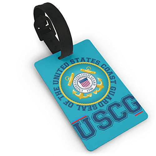 YGXDPM Seal of The United States Coast Guard Luggage Tag Suitcase Labels Bag Travel Accessories ID Cards for Luggage Baggage Travel Identifier
