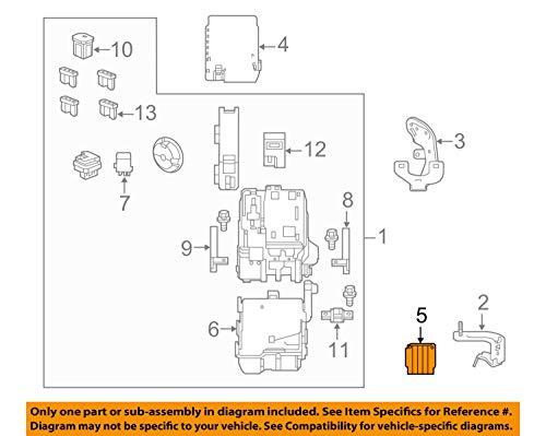 Genuine Honda 38257-T2A-A01 Relay Box Terminal Cover: