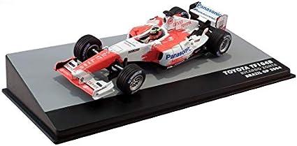 - Altaya 1:43 - Formula 1 - Toyota TF104B Brazil GP 2004 Ricardo Zonta