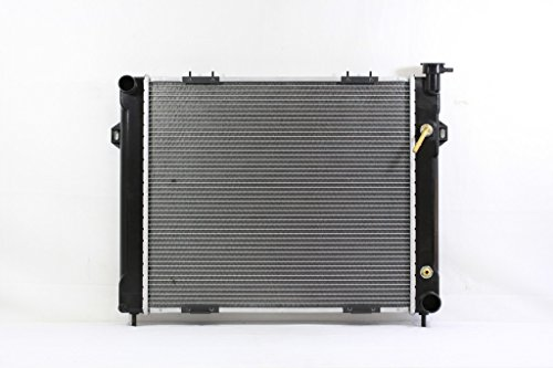 Radiator - Pacific Best Inc For/Fit 1394 93-98 Jeep Grand Cherokee Wagoneer V8 5.2L/5.9L (98 Jeep Grand Cherokee Wagoneer)
