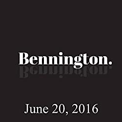 Bennington, Rob Burnett, June 20, 2016