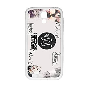 5 Seconds Of Summer New Style High Quality Comstom Protective case cover For Samsung Galaxy S4