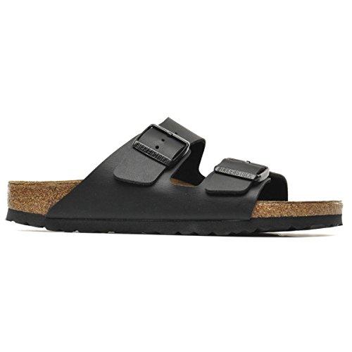 Birkenstock BIRK-51793 Arizona Sandals, Black, 38 EU Regular by Birkenstock