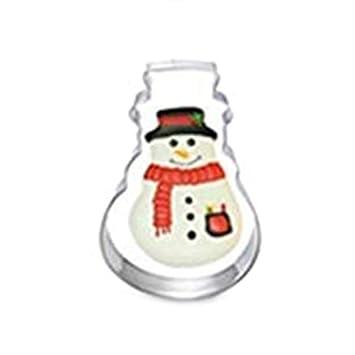 Wicemoon 1pcs Muñeco de Nieve Navidad Molde de Silicona Molde de Pastel de Chocolate Molde Para Hornear Herramientas: Amazon.es: Hogar