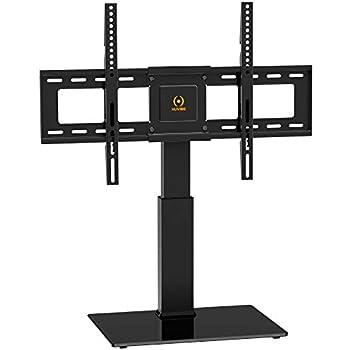 Amazon Com Huvibe Universal Tv Stand Table Top Swivel Tv