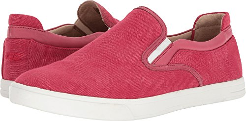 Ugg Hombres Mateo Canvas Fashion Sneaker Viking Red