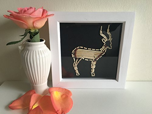 Unique Artwork of an African Impala - Perfect living room decor by ShukuDesigns