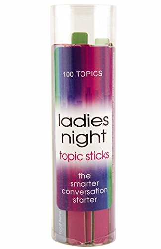 Ladies Night Conversation Starter Sticks - Start Awesome Convos!