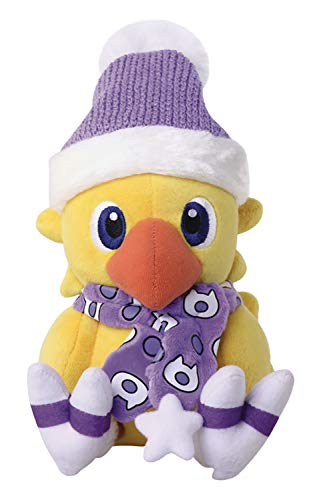 Square Enix Final Fantasy: Chocobo (Winter Version) Plush Toy, - Chocobo Plush