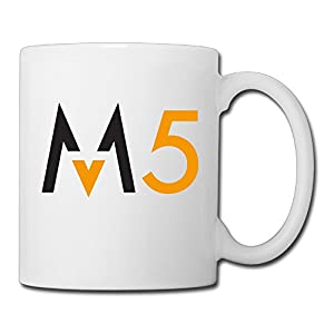 Christina Maroon 5 Band Logo Ceramic Coffee Mug Tea Cup White