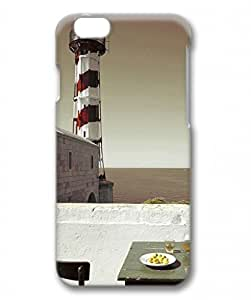 PC Hard Shell Lighthouse on Bay for Iphone 6 3D Case