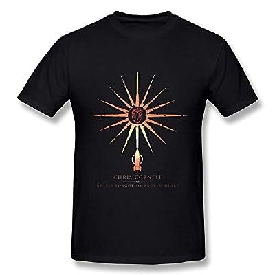 RZF Men's Chris Cornell Higher Truth 1 T-Shirt- Black