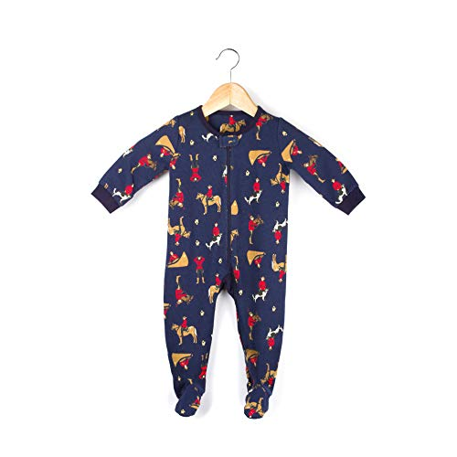 Drake General Store 'RCMP Mountie' Baby Unisex Onesie One-Piece Footed Waffle Thermal Pajamas (0-6M) ()