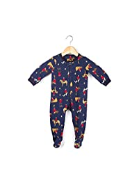 Drake General Store Baby Unisex Onesie One-Piece Footed Thermal Pajamas