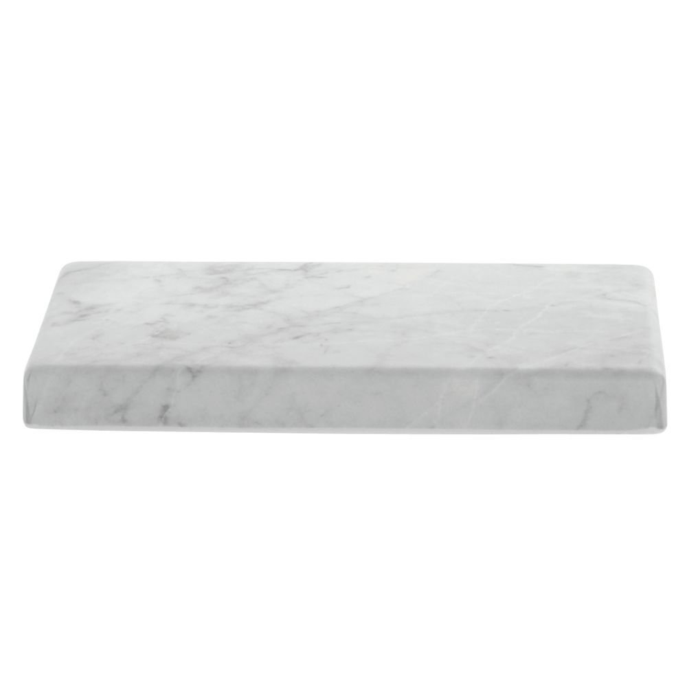 Display Riser Butcher Block Look Rectangular Made of Melamine and Bamboo EcoFriendly 10L x 6W x 1H