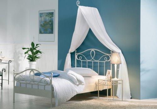Metallbett weiß 120x200  Stilbetten Bett Metallbetten Metallbett Roman weiß 120x200 cm ...