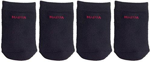 (MABUA Black Toe Socks - 4 Pairs.)