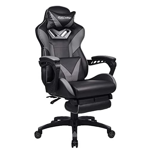 Surprising Yourlite Massage Gaming Chair Racing Style Office Chair High Back Recliner Computer Chair Pu Leather Ergonomic Chair Height Adjustable Gaming Desk Evergreenethics Interior Chair Design Evergreenethicsorg