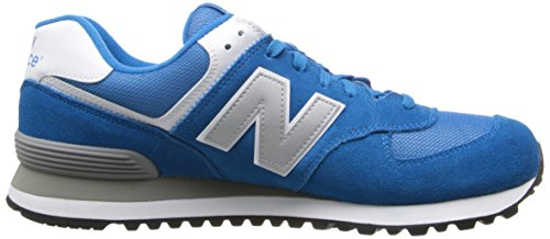 Vaw Blau D Silver mode Baskets New Balance ML574 homme Blue Bleu qw6WE08