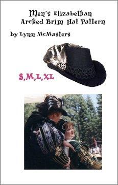 05fafffbb77 Amazon.com  Men s Elizabethan Arched Brim Tall Hat Pattern (Sewing ...