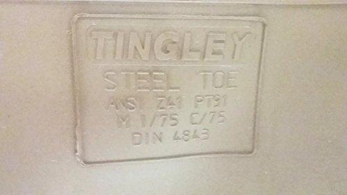 Tingley Mens 12 Premier Klass Pvc Chevron Stål Tå 16 Knä Stövlar - Usa Gjorde
