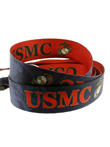 PinMart's U.S.M.C. Marine Corps Military Patriotic Lanyard w/ Safety Release