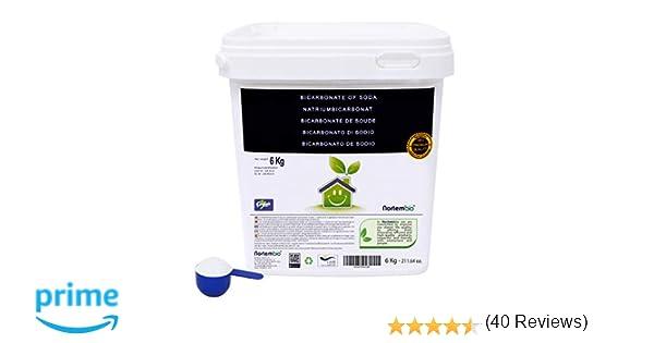 NortemBio Bicarbonato de Sodio 6kg, Insumo Ecológico de Origen ...