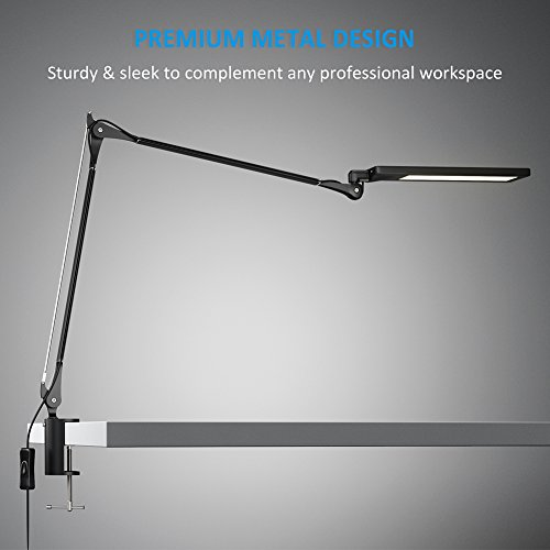 Byb E476 Metal Architect Swing Arm Desk Lamp Dimmable Led