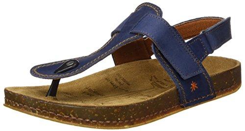 ART 0865 Olio We Walk, Zapatillas de Estar por Casa con Talón Abierto Unisex Adulto Azul (Blue)