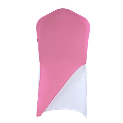 Marvelous Banquetbay Chair Cap Covers Bands Pink 100Pcs Pdpeps Interior Chair Design Pdpepsorg