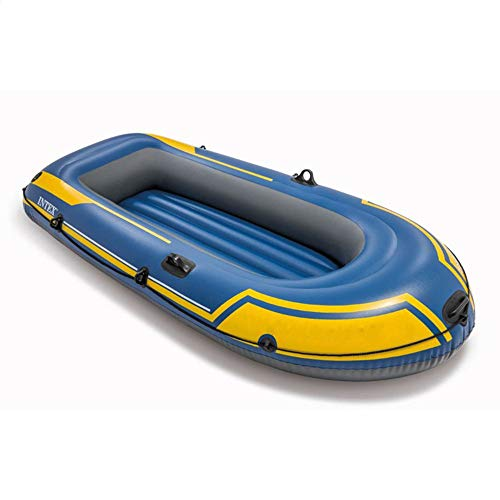 CVEUE OS Kayak 2 Person Inflatable Boat Thickened Double Fishing Boat Assault Boat Dinghy Drift Boat Kayak Paddle Holder