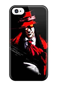 For Iphone Case, High Quality Hellsing Gothic Anime For Iphone 4/4s Cover Cases