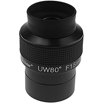 Astromania Fully Multi-Coated 2 Untra-Wide 80 Degree Eyepiece for Telescope F15mm