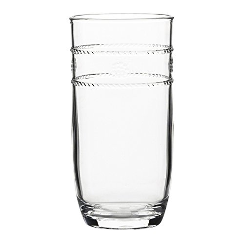 Juliska Isabella Acrylic Large Beverage drinking glass (sold individually)