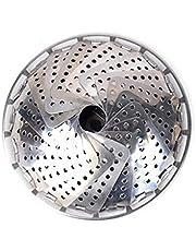 سلة ديكين ستيمر، من الفولاذ المقاوم للصدأ، حشوة قابلة للطي لمختلف أحجام الأواني
