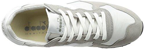 DIADORA HERITAGE uomo sneakers basse 157083 01 C4621 TRIDENT NY S.W Grigio E Bianco