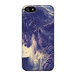 Awesome Stone Dragon Flip Case With Fashion Design For Iphone 5/5s
