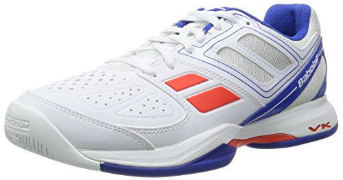BABOLAT Pulsion All Court Schuhe Herren, Weiß/Blau, 41