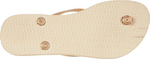 Grey Slim Flops New Sand Lux Gold Flip SW Womens Havaianas 5Zwnxq0UOO