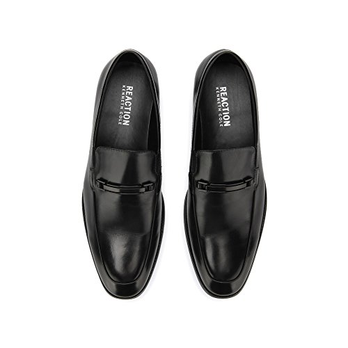 Reactie Kenneth Cole Lederen Bit Jurk Loafer - Heren Zwart