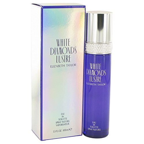 White Diamonds Lustre by Elizabeth Taylor - Eau De Toilette Spray 3.3 oz