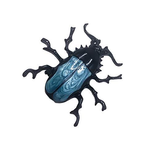 Vintage But Coat I - PunkStyle Enamel Beetle Brooch Insect Brooch Pin