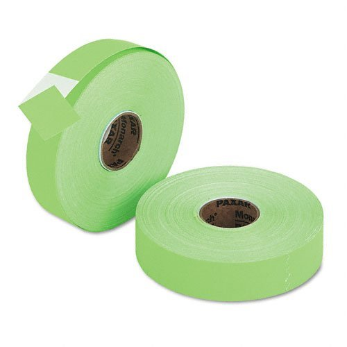 - Monarch 925562 - Pricemarker 1156 One-Line Labels, 3/4 x 1-1/4, Fluorescent Green, 2 Rolls/Pack-MNK9255