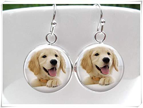 Golden Retriever Earrings,Dog Earrings,Earrings for little girls,Puppy Dog Earrings