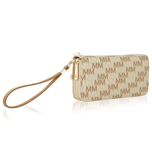 (MKF Collection Hofstra M Signature Wallet Wristlet by Mia K Farrow)